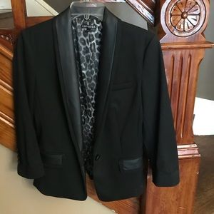 Express Black Tuxedo Jacket